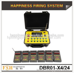 1200 cues in max 500 M Remote control fireworks fire system 4 cues pyrotechnic fire System fireworks firing system