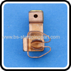 stainless steel stamped micro electric contact