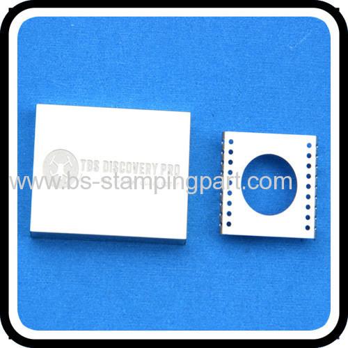 stamping etching LOGO metal pcb holder