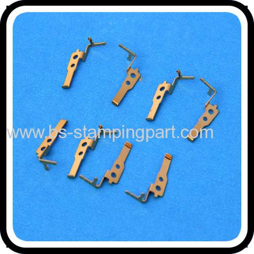 gold plating beryllium copper battery contact