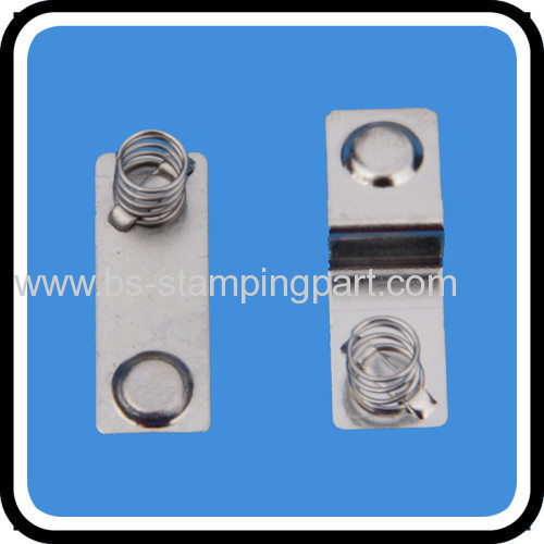 12v stamping brass battery contact
