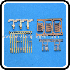 copper stamping spare parts