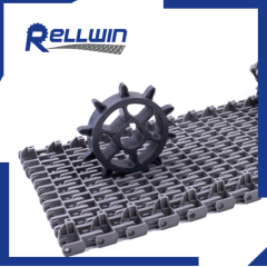 spiral radius conveyor belt Flush grid surface is620