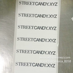 High Quality Custom Fragile Paper Sticker Do Not Remove Sticker Destructible Self Adhesive Vinyl Security Label