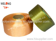 colored polyester yarn fdy