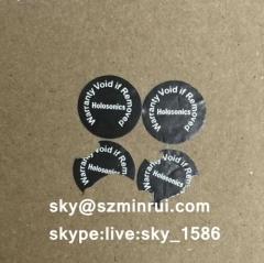 warranty void if removed stickers/tamper proof screw labels/warranty sticker screw