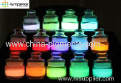 photoluminous pigment glow in dark powder oil paint use