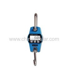 Digital mini crane scale 30 to 300KG capacity colorbox packing