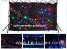 DMX512 20W Outdoor SMD Flexible LED Curtain Display Screen for Rental