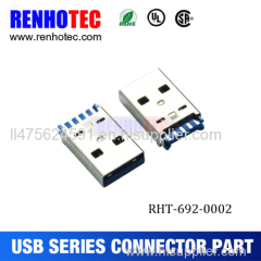 Mini USB 3.0 A Type SMT Male Connector