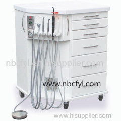 Portable dental comprehensive treatment machine