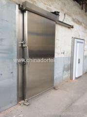 heavy duty motorized sliding freezer doors