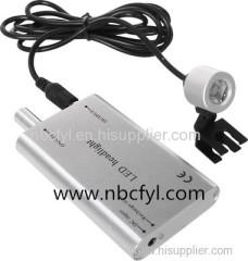 Portable clamp on headlights