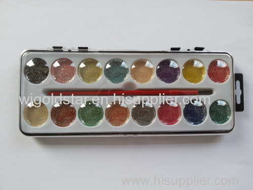 glue watercolor set with 16-color