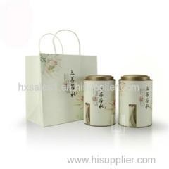 Food grade wholesales metal gift tea set tinplate tea tin box