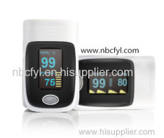 Refers to the clip-on pulse oximetry