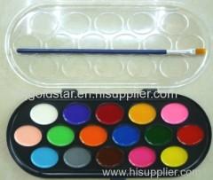 Ensemble de peinture semi-sèche 16 couleurs