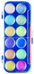 Pearl Watercolor Paint Metallic box