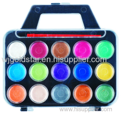 Non toxic pearl watercolor paint box