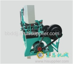 Double strands barbed wire mesh machine/razor blade making machine
