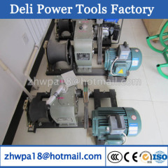 3T Cable Pulling Winch Machine Electric Cable Pulling Winch
