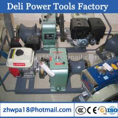 Diesel Engine Powered Hoist Winch Cable bollard winch