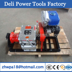 Diesel Engine Powered Winch Cable Pulling Winches supplier