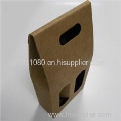 Tote Paper Wine Box