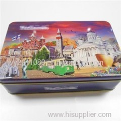 Biscuit Tin Packaging Box