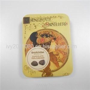 Vintage Chocolate Tin Box