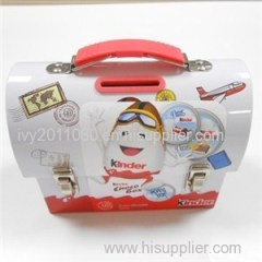 Kids Tin Money Box
