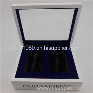 Windowed Plastic Storage Box