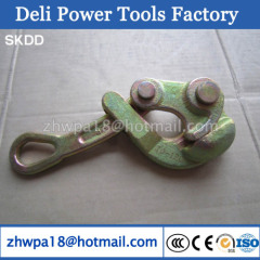 Aluminum alloy cable wire grip automic clamps for 25-50GJ