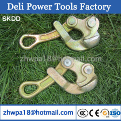 Heavy duty wire pulling grips used for wire pulling
