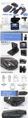 H198 HD Car Cam Recorder 2.5inch 6 LED Night Vision Under Car Security Camera