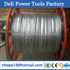 Anti-twisting wire rope for pulling conductor from 9mm to 30mm