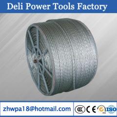 16mm Anti twisting galvanised steel rope high quality