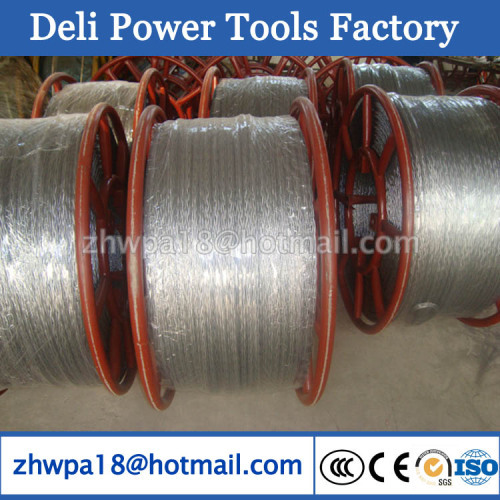 Pulling Rope Anti-twisting Galvanized Steel Wire Rope 16mm DLAT-07 ...