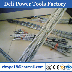 Anti-twisting Galvanized Steel Wire Rope with spliced eyes at ends