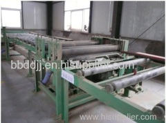 Particle board production line machine