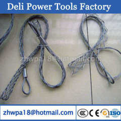 Non-Conductive Galvanized Cable Grip Cable Pulling Socks