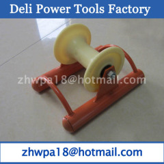 Paint Steel buried cable roller Cable Tray Rollers