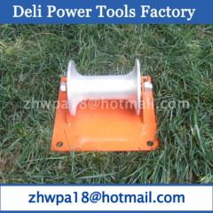 Iron cable pulley used for unfolding less than 180mm cable