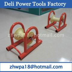 Cable protection rollers straight roller for cables
