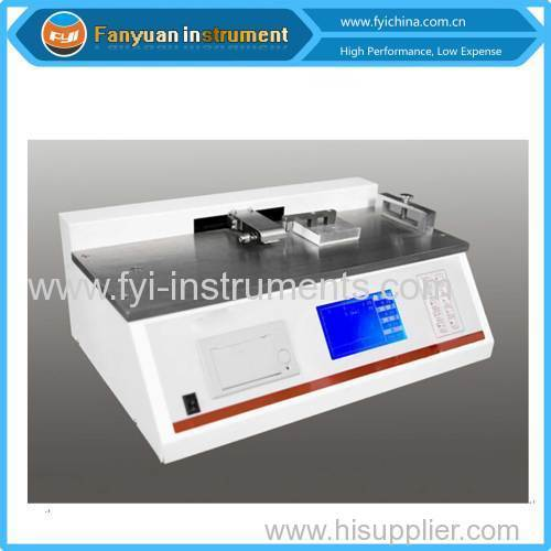 Plastic Film of Dynamic Friction Tester