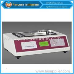 TAPPI Inclined Plane Method Coefficient of Stati Friction Tester