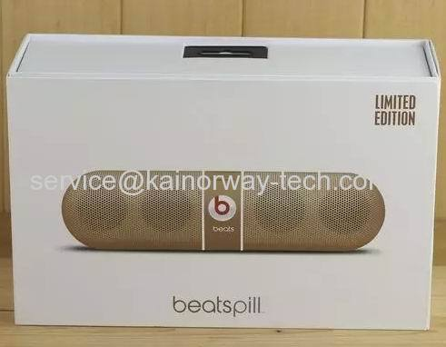 Beats Pill Wireless Bluetooth Portable Limited Edition Replica Speakers Gold Capsules