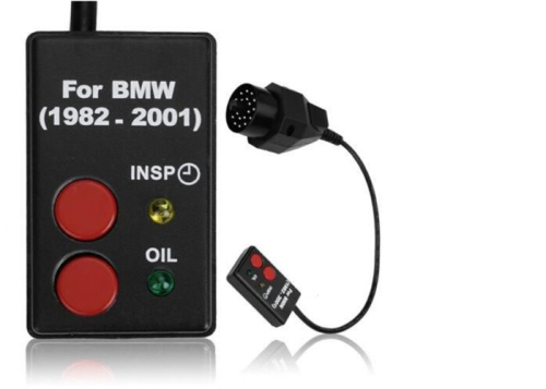Superior SI RESET BMW OLD OBD2 / Service Airbag Light Reset Tool Via OBD Tool U0026 SI