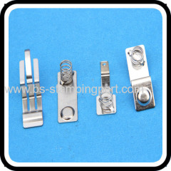 precision spring metal contacts for PCB