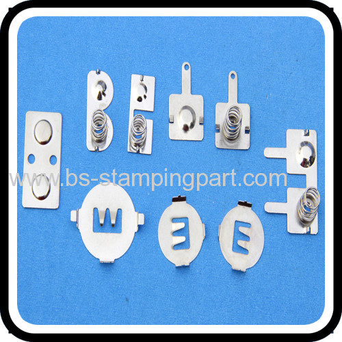 leaf spring stainless steel contact